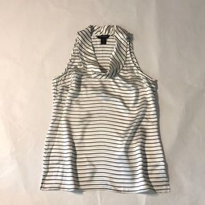 WHITE HOUSE/BLACK MARKET  sleeveless silk blouse